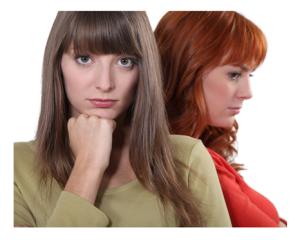 Female Friends Disagreement