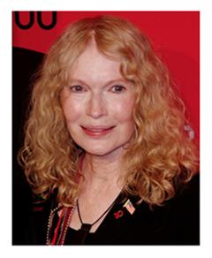Mia Farrow 2012