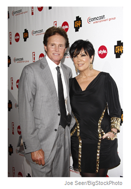 bruce jenner and kris jenner january 2011 pasadena