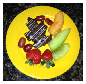 Fresh Fruit and Chocolate Covered Fruit