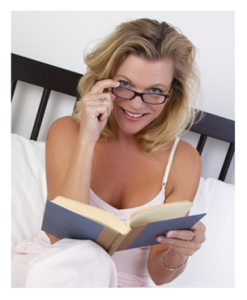 Woman in Bed with a Book
