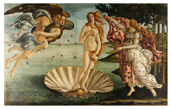 Boticelli Birth of Venus