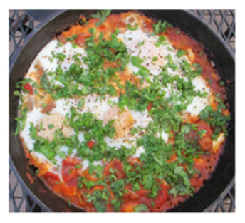 Detail of Judiths Shakshuka