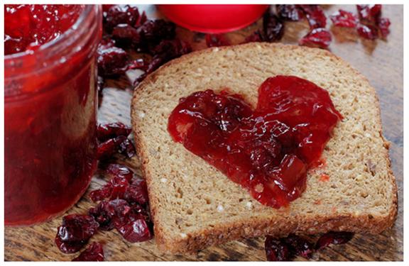 Jelly Sandwich Valentine