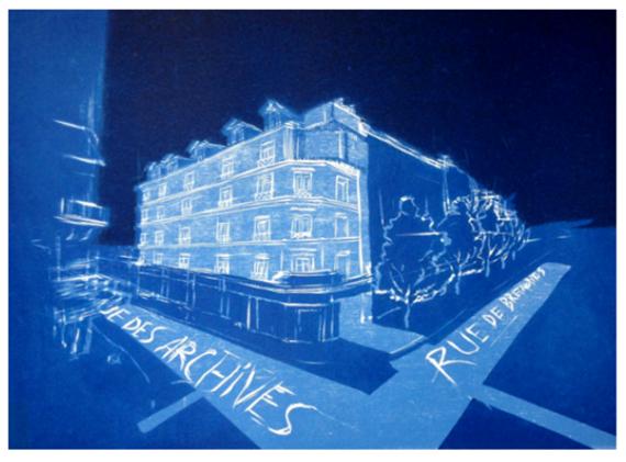 Print Rue des Archives