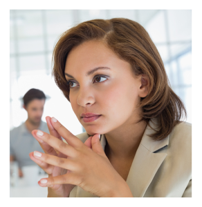 Businesswoman Making a Decision