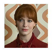 Thumbnail Christina Hendricks as Joan Harris