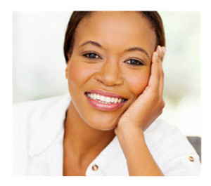 f Smiling African American Woman