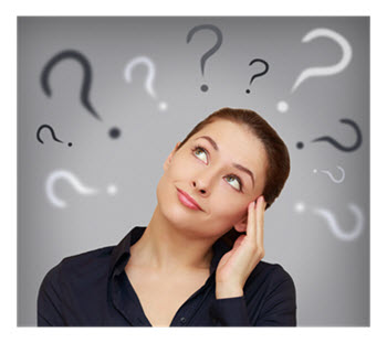Woman With Questions and Ideas