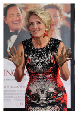 Emma Thompson Los Angeles Nov 7 2013 editorial use
