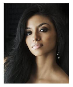 Gorgeous Woman Dark Eyes Black Hair
