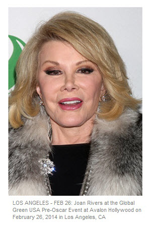 Joan Rivers LA Feb 26 2014 Pre-Oscar Event