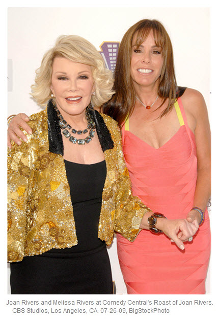 Joan and Melissa Rivers 2009