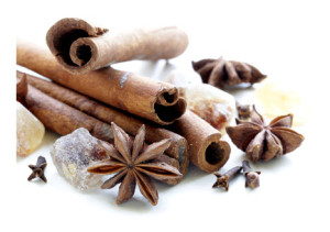 Cinnamon Cloves and Star Anise