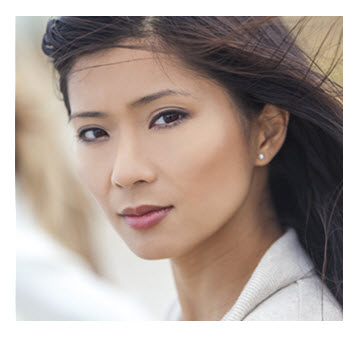 Gorgeous Asian Woman_Portrait
