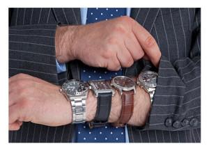 Four Wrist Watches