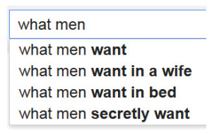 Google What Men Want