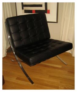 Barcelona Chair Mies van der Rohe 1