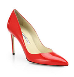 Brian Atwood Point Toe Pump 90mm Heel