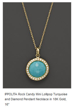 Turquoise pendant from Bloomingdales_Ippolita