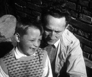 Vintage Photo Father and Son 300x250