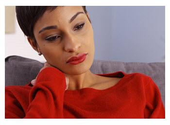 Beautiful Sad Woman Considering Divorce