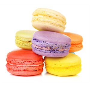 daily plate of crazy beautiful macarons