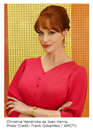 Christina Hendricks as Joan Harris Season 7 AMC TV