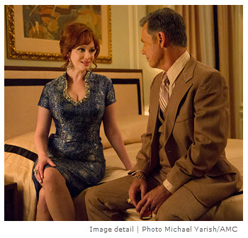 Mad Men Season 7 Episode 10 Joan and Richard