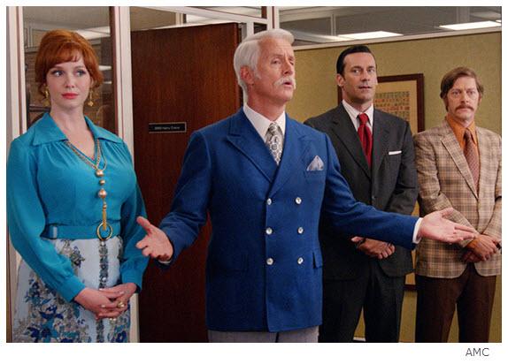Mad Men Season 7 Episode 11 Joan Roger Don Ted