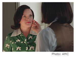 Mad Men Season 7 Episode 9 Peggy and Pima