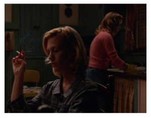 Mad Men Finale Betty and Sally