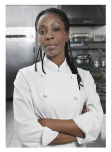 African American Female Chef