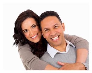 Portrait of Happy 40ish Couple
