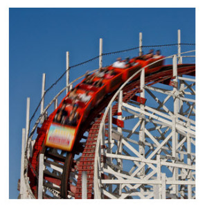 Red Rollercoaster