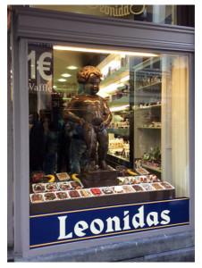 Chocolate Mannekin Pis_Leonidas Brussels