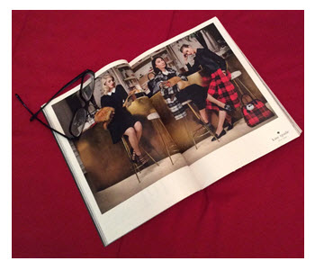 Kate Spade Fall Preview_Magazine Ad