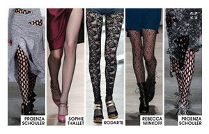 Patterned Stockings at ELLE_2015