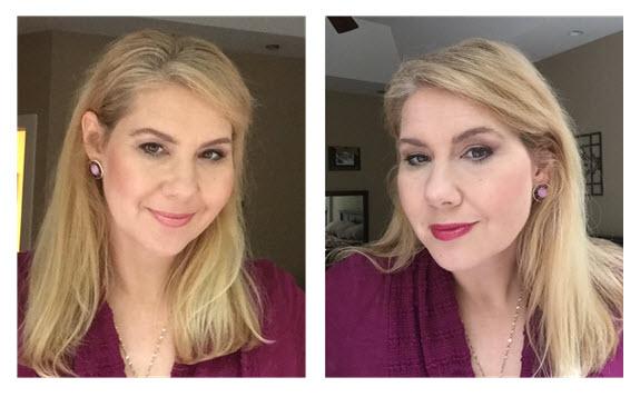 Makeup Makeover_Missy 6 Light vs Darker Lipstick