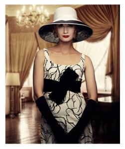 Fantasy Fashion Woman in Hat