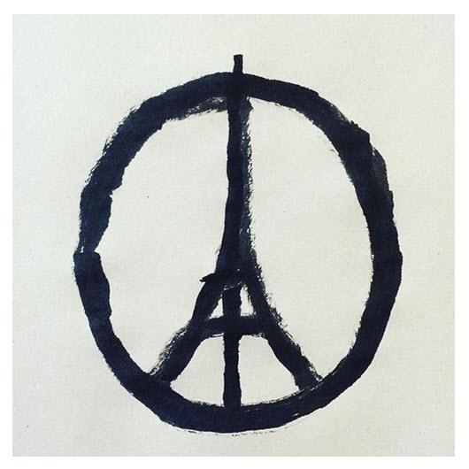 Peace_Tour Eiffel_Jean Jullien