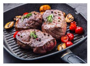 Steak au Poivre in Pan