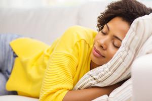 Woman Taking a Nap 600