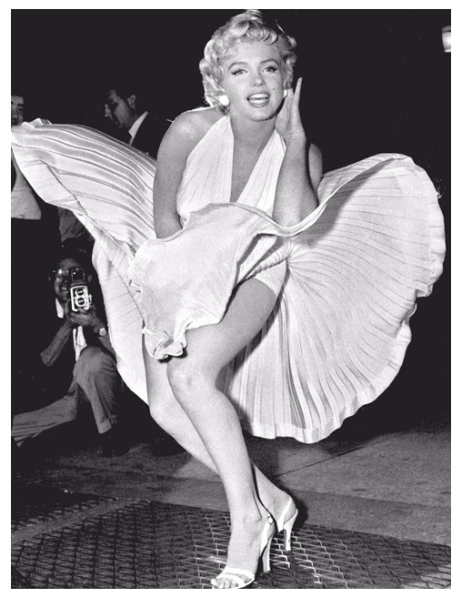 Marilyn in White Dress From 7 Year Itch