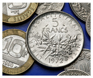 French Francs Coins