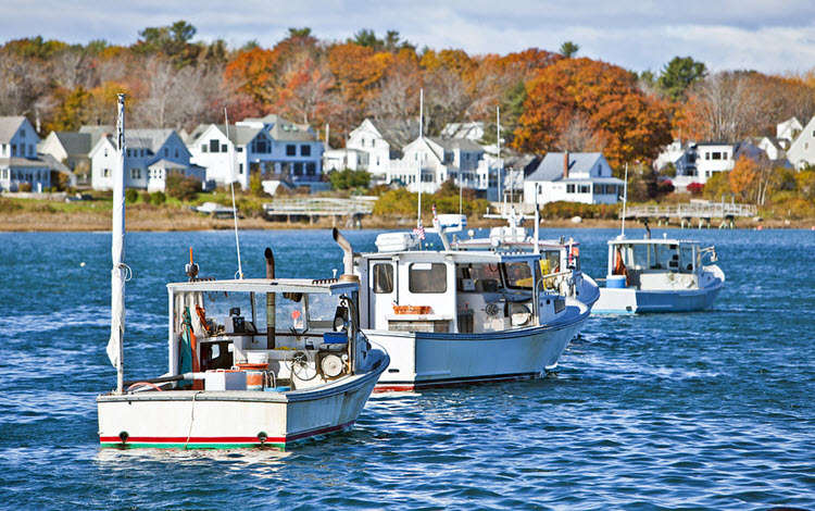 f Lobster Fishing Vessels in Maine
