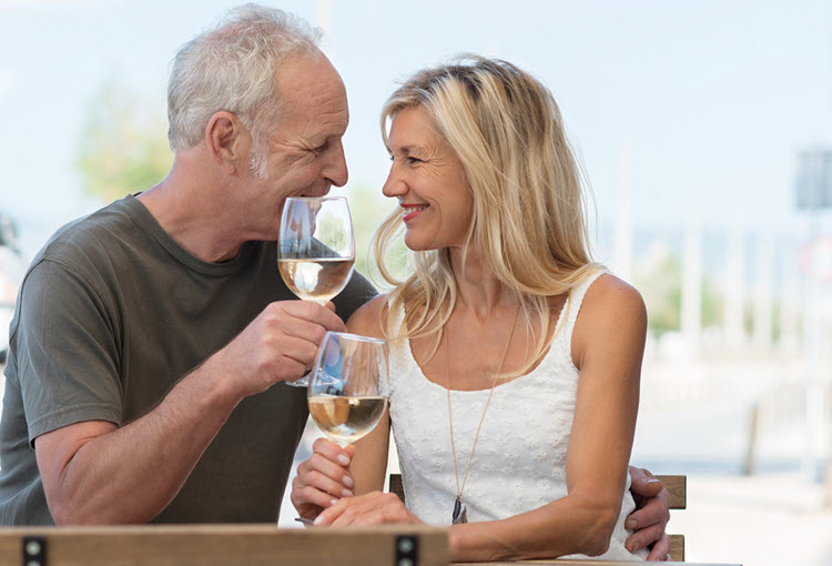 Midlife dating at 50